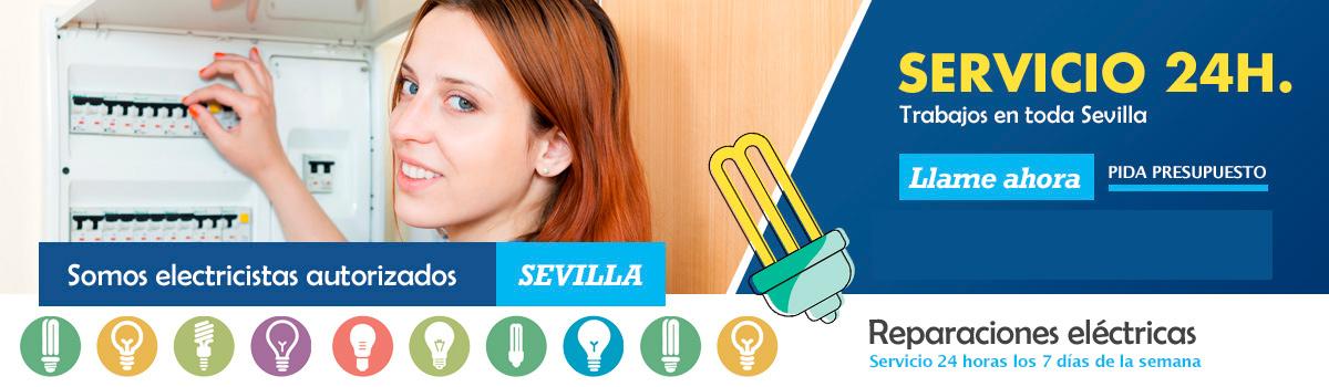 Contacte con un Electricista en Sevilla